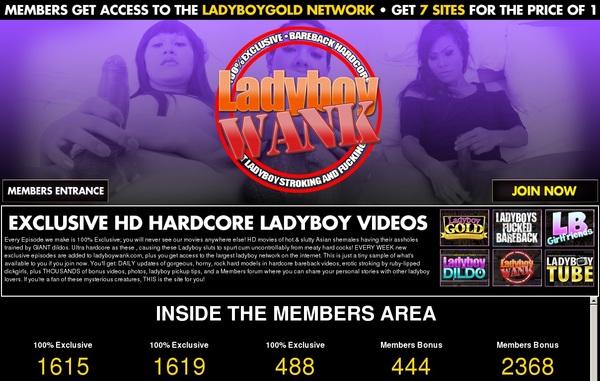 Access Ladyboy Wank Free