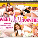 Become Sweet White Panties Member