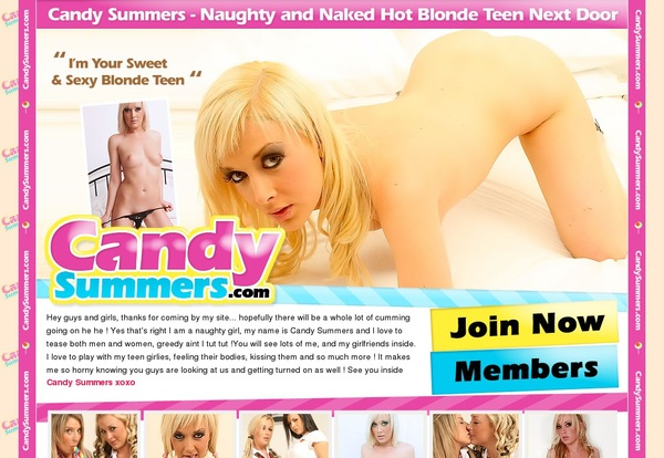 Candysummers.com Get Password