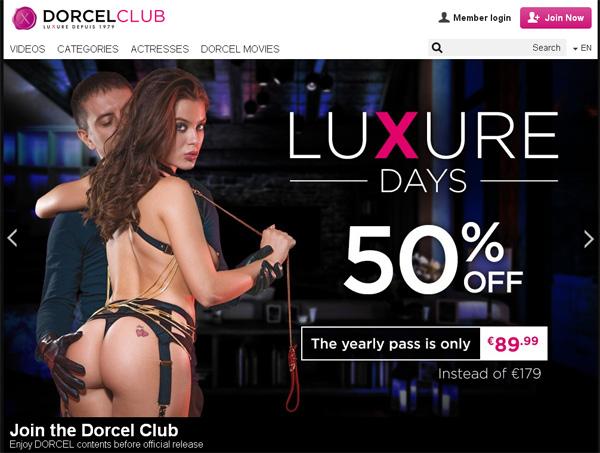 Free Dorcel Club Logins