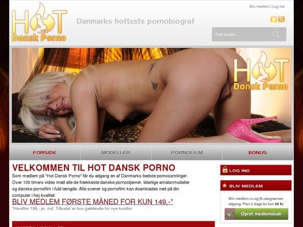 Hotdanskporno.dk Free Pass