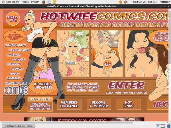 Hotwife Comics Nude