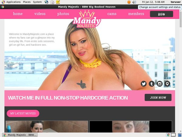Mandy Majestic Account For Free
