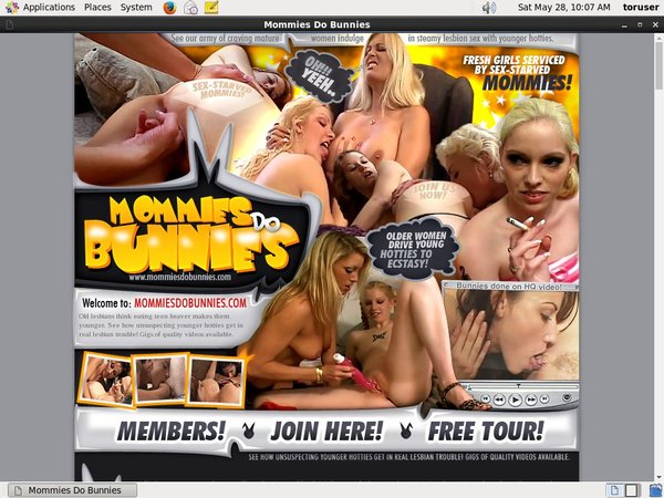 Mommies Do Bunnies Signup Page