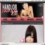 Password Free Handjob Japan