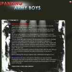 Spankingarmyboys.com Password Info