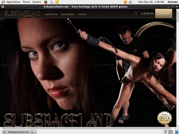 Subspaceland Pro Biller Page