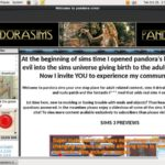 Pandorasims Full Scenes