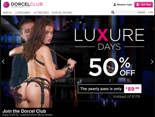 Dorcel Club Daily Passwords