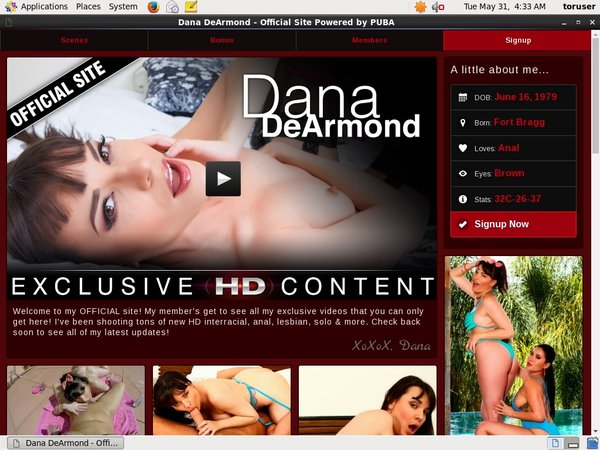 Accounts To Danadearmond.com