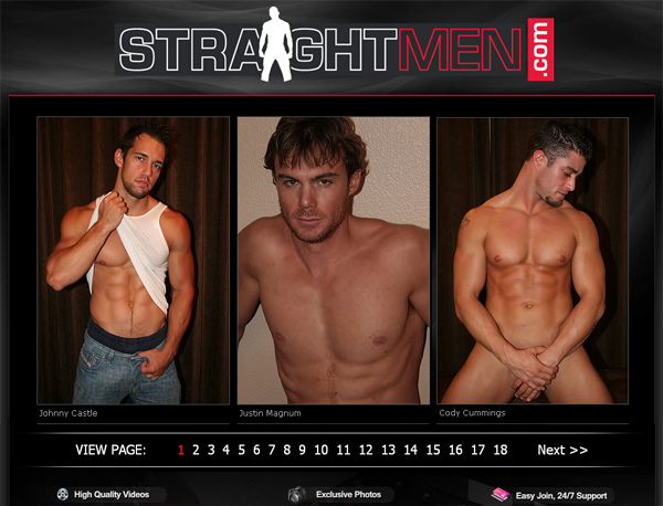 Straightmen.com With Online Check