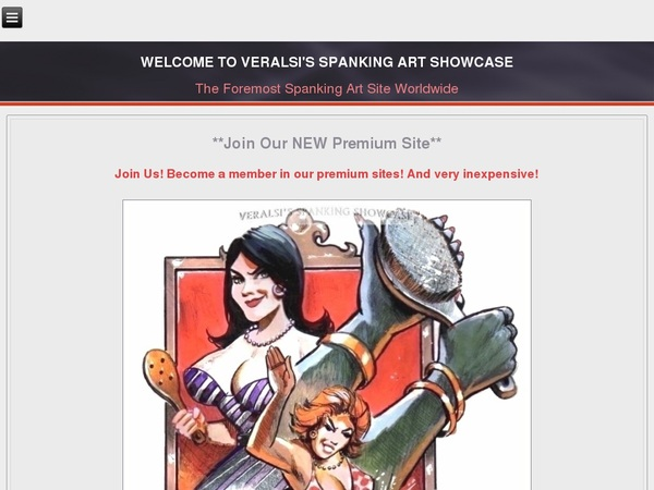Veralsis Spanking Art サイン アップ