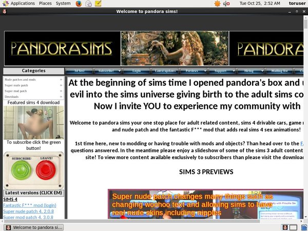 Pandora Sims Account Premium Free