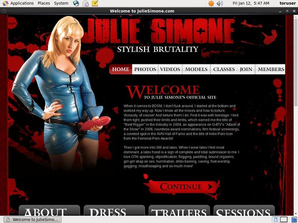 Julie Simone Full Access